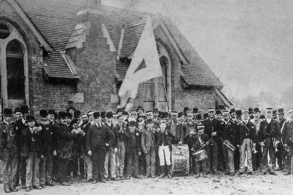 Opening of Crowcombe School, 1872