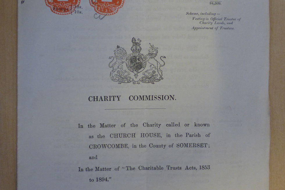 Charity Commission grants charity status, 1907